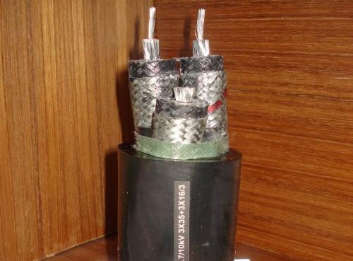 河南耐低温野外移动高压电缆橡皮软电缆